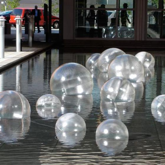 Bellevue Glass Spheres